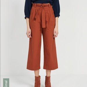 Frank And Oak Good Cotton Super High-Waisted Pants